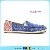 Beste Entwurfs-Segeltuch-Boots-Frauen-Schuhe