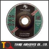 T41 스테인리스 125X3X22.23를 위한 편평한 절단 바퀴