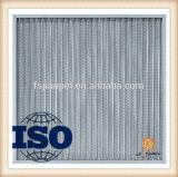 Double Layers Grade de teto Filtro de malha de alumínio para o ar Duct