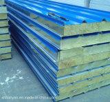 Panino del comitato delle lane di roccia dell'isolamento termico del materiale da costruzione