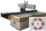 Автомат для резки CNC каменного абразива водоструйный с приставным резаком 4 осей