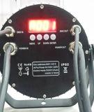 украшение венчания IP65 9X18W Rgbawuv водоустойчивое напольное