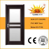 Modèles principaux de porte de toilette de PVC d'avant moderne de Chambre (SC-P185)