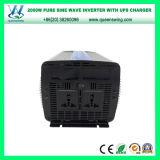 Inverseur pur de pouvoir de véhicule de sinus d'UPS DC72V 2000W (QW-P2000UPS)