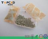 O mineral perla a argila da proteção ambiental