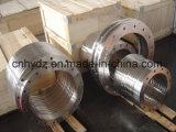 材料A182 F316Lのステンレス鋼のHubbedの熱い造られたフランジ