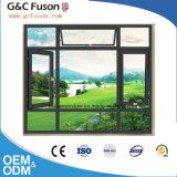 Het beste Openslaand raam van het Aluminium van de Prijs/het Blinde Binnen Dubbele Venster van het Glas