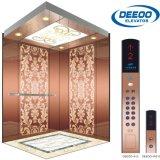 320-1600kg機械Roomless機械部屋の上昇の屋内屋外のホーム乗客のエレベーター