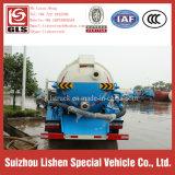 Camion delle acque luride di vuoto del camion di aspirazione delle acque luride di Dongfeng 4*2 piccolo 5 tonnellate