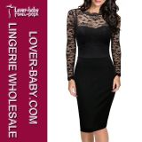 Madame occasionnelle Wear Dress (L36088) de bureau de travail de partie