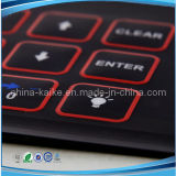 LED Lights와 Female Connection를 가진 주문 Tactile Membrane Switch