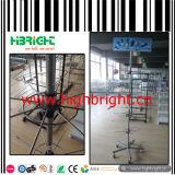 Countertop Pegboard Ausstellungsstand-Verkaufsberater-Bildschirmanzeige