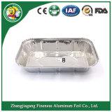 De beschikbare Container van de Folie van het Aluminium voor het Baksel van de Cake