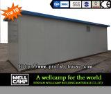 Casa prefabricada modular simple durable de la ayuda de gobierno