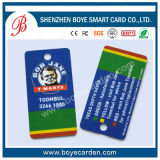 Smart card especial anormal da forma