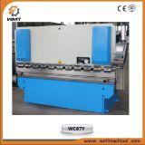Máquina WC67Y 600/6000 do freio da imprensa hidráulica