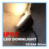 IP65 7W Dimmable DEL Downlight