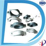 Ss316 Victaulic con la abrazadera empernada natural del anillo de goma de la tuerca Ss316