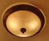 Phine europäische dekorative Hauptbeleuchtung gebildet von der spanischen Marmorvorrichtungs-Decken-Lampe