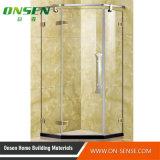 Cabine de douche de l'acier inoxydable 304 avec la glace Tempered