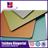 Alucoworld 12 anni del metallo di esterno dei pannelli ASP del rivestimento di pannello composito di alluminio di disegno