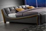 Quente-Vendendo a base de couro estofada moderna Hc315 da mobília Home