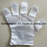Wegwerf-PET Handschuh-biodegradierbare Plastikwegwerfhandschuhe