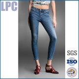 2016 OEM van de Katoenen van de Zomer de Bevordering Afgedrukte Jeans Dames van de Reclame