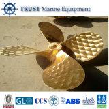 Propulsor de bronce de la nave de la lámina del infante de marina 3 para la venta