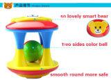 아이를 위한 플라스틱 귀여운 장난감 곰 가르랑거리는 소리 장난감은 재미를 본다