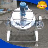 Bouilloire revêtue d'acier inoxydable de chauffage de vapeur (50-1000L)