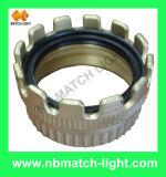 DIN2817管を締め金で止めるためのアルミニウム安全クランプ