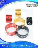 Дешевые Оптовая ЧПУ Алюминиевый фрезерование пластмасс Часть (Alu-002)