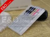 プラスチックの箱の卸し売り安く使い捨て可能な縫うボックスホテル縫うキット