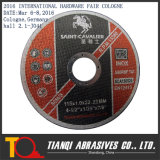 Abrasivos de corte de rodas, corte disco, cortou a roda para Inox 115X1.0X22.2
