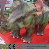 Jura Levensgrote Reusachtige Kleine Elektrische het Lopen van het Vermaak Dinosaurus met Ei