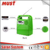 Mini système solaire 10W Solar Enegry / système solaire portable pour les lumières, les ventilateurs