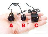 Optionのための最も小さいHD Color CCD CMOS Waterproof Vehicle Car Rear View Backup Camera 3 Category
