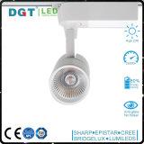 12/24degrees LED 최고 밝은 옥수수 속 LED 궤도 빛 25W 대중음식점 반점 점화를 가진 스포트라이트
