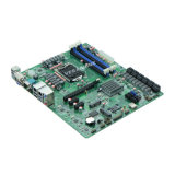 Intel B75 LGA1155 Dual LAN, 18 SATA, cartão-matriz industrial de 2COM NVR