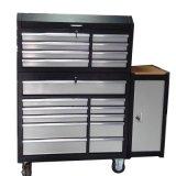 Шкаф инструмента сверхмощной черноты гаража металла шкафа хранения стальной