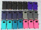 Caixa colorida quente do PC da Três-Prova do defensor para a galáxia S7 de Samsung