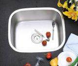 Раковина кухни нержавеющей стали шара Undermount одиночная, раковина штанги, раковина мытья (5345)