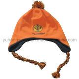 Крышка полиэфира ватки зимы детей теплая связанная приполюсная, шлем Beanie