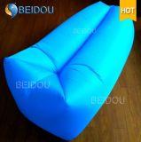 Preiswerte einzelne Hängematte Lamzac Kneipe Laybag kampierender aufblasbarer fauler Schlafsack des Mund-DIY