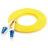 Fibra óptica Patch Cord / Cable de conexión con el SC, LC, ST, conectores FC