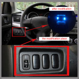 미츠비시를 위한 2.1A Dual USB Port Socket Car Parts Cellphone GPS Charger
