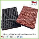 Material corriente reciclado EPDM del suelo de la pista del caucho del deporte
