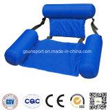 Verano durable del agua de los apoyabrazos de la comodidad de la piscina del flotador del salón inflable de la silla
