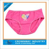 Girls Pink Heat Transfer Printing Underwear / Hipster